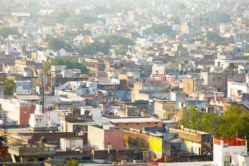 Stickers pour portes Delhi View of the Jaipur skyline