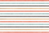 Watercolor gray, pink, beige and blue striped background. - 116713320