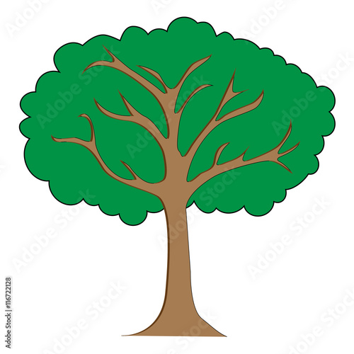 Tree Clipart Illustration Buy This Stock Vector And Explore