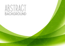 Abstract Green Background For ...