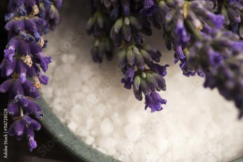 lavender spa Obraz na płótnie