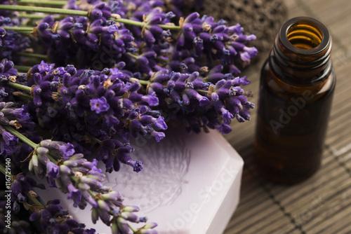 Obraz na plátně  lavender spa