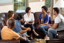 Small Group Counseling Session.