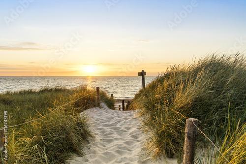 Foto  Dünen am Strand
