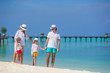 Family fun beach vacation