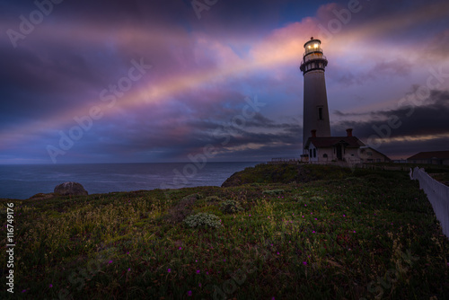 Photo sur Toile Phare Pigeon Point Lighthouse