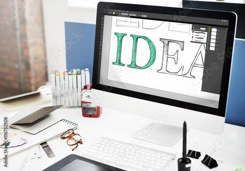 Cuadros en Lienzo  Idea Creative Design Editorial Vision Concept