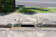 Cover the drain of cement