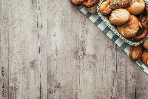 Cadres-photo bureau Boulangerie Vintage bakery
