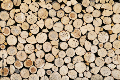 Printed kitchen splashbacks Firewood texture The firewood, which are very necessary in the winter.
