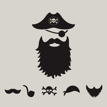 Pirate Supplies Silhouette