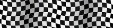 Bannière. Drapeau. Damier. Checkerboard