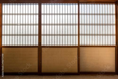 Foto op Plexiglas Bamboe Japanese room