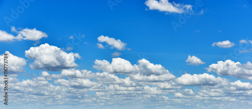 Wall Murals Heaven clouds in the blue sky