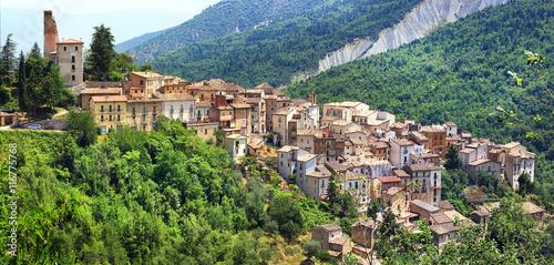 Anversa degli abruzzi- old italian village in mountains.