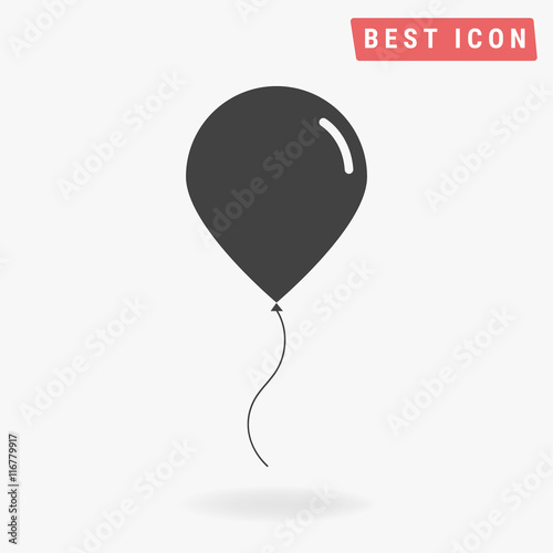 Obraz na plátně Balloon icon, vector icon eps10.