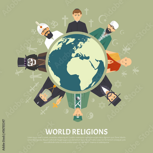 Religion Confession Illustration Fototapete