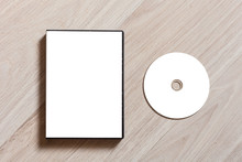 Dvd Or Cd Disc Cover Case Mock...