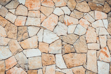 Flagstone Full Frame Background With Copy Space
