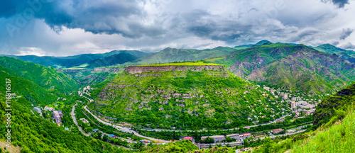Foto op Plexiglas Groene The landscape of Alaverdi