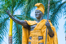 The King Kamehameha Statue In ...