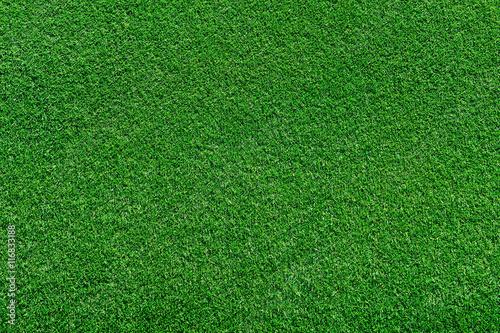 Deurstickers Groene real green grass background