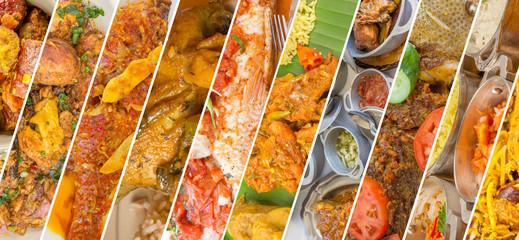 Panel Szklany Potrawy i napoje gastronomie réunionnaise