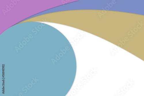 Fototapeta Material design background and pastel concept smooth line obraz na płótnie