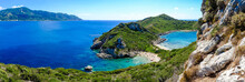 Porto Timoni Panorama. The Most Famous And Beautifull Beach In C