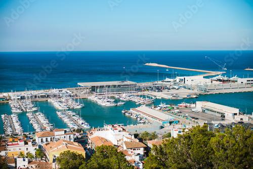 Foto auf Gartenposter Tunesien Port of Denia in Costa Blanca, Spain