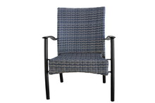 Outdoor Poly Rattan Dining Cha...