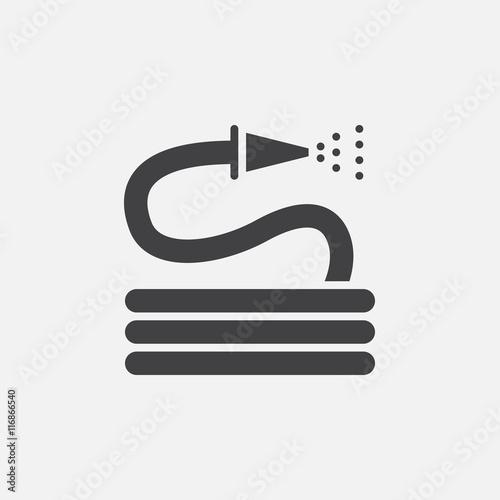 Carta da parati hose icon vector, solid logo illustration, pictogram isolated on white