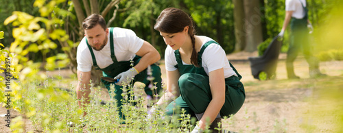 Stampa su Tela Caring for the nature