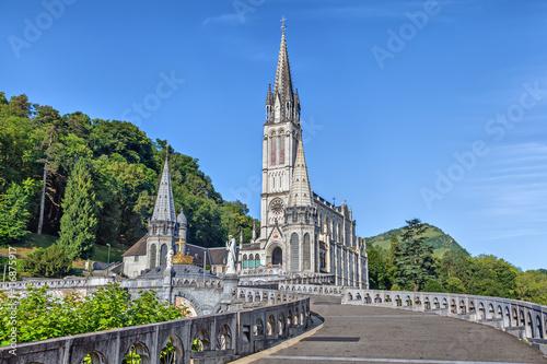 Edifice religieux Rosary Basilica in Lourdes