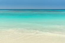 White Beach, Clear Sea And Blue Sky