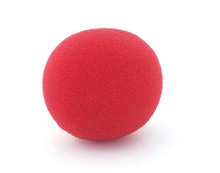 Isolated Red Foam Clown Nose O...