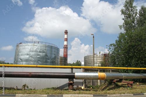 Staande foto Industrial geb. Industrial Area