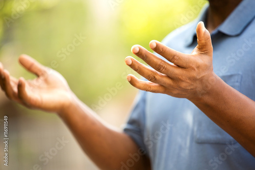 Fotografie, Obraz  Mature African American Man