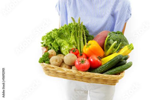 Fototapety, obrazy: 採れたての野菜 Vegetable image