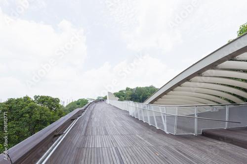 Photo  Bridge walkway in the park