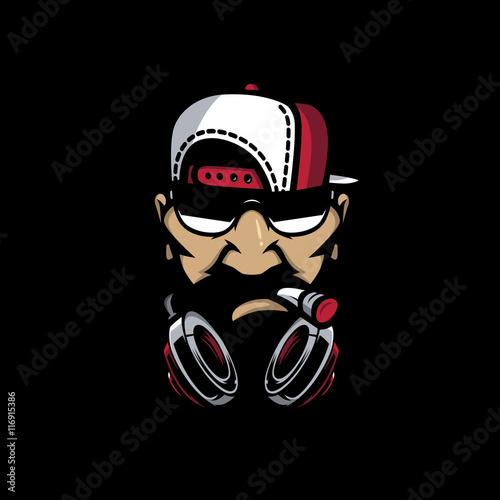 Fotografie, Obraz  Urban HipHop character