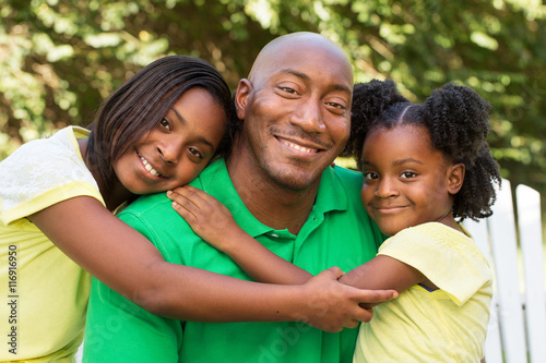 Valokuva  African American Family