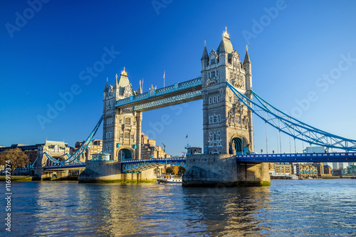 Staande foto Londen Tower Bridge in London, UK