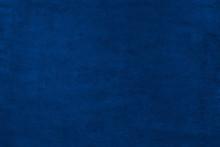 Blue Color Velvet Texture Back...