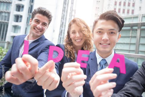 Photo  Business Idea concept