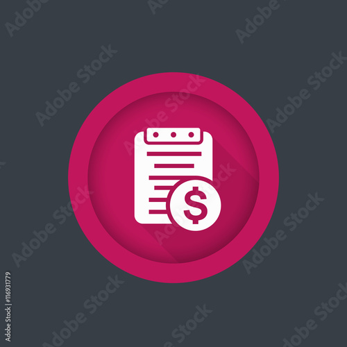 Payroll, paying bill icon - Buy this stock vector and