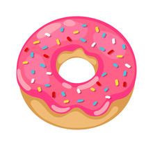 Donuts Vector Isolated
