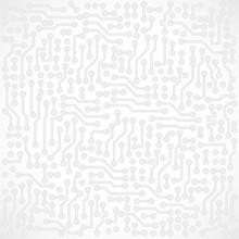 Light Gray Square Abstract Vec...