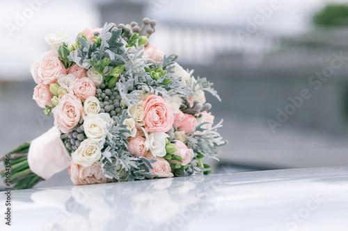 Fotografie, Obraz  a beautiful delicate bouquet