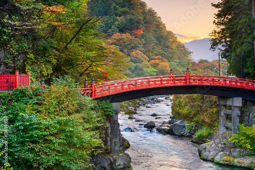 Canvas Prints Bridge Nikko, Japan Bridge